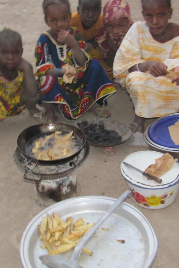 Blog 2 – Qu'est-ce qu'on mange à Sareseyni?